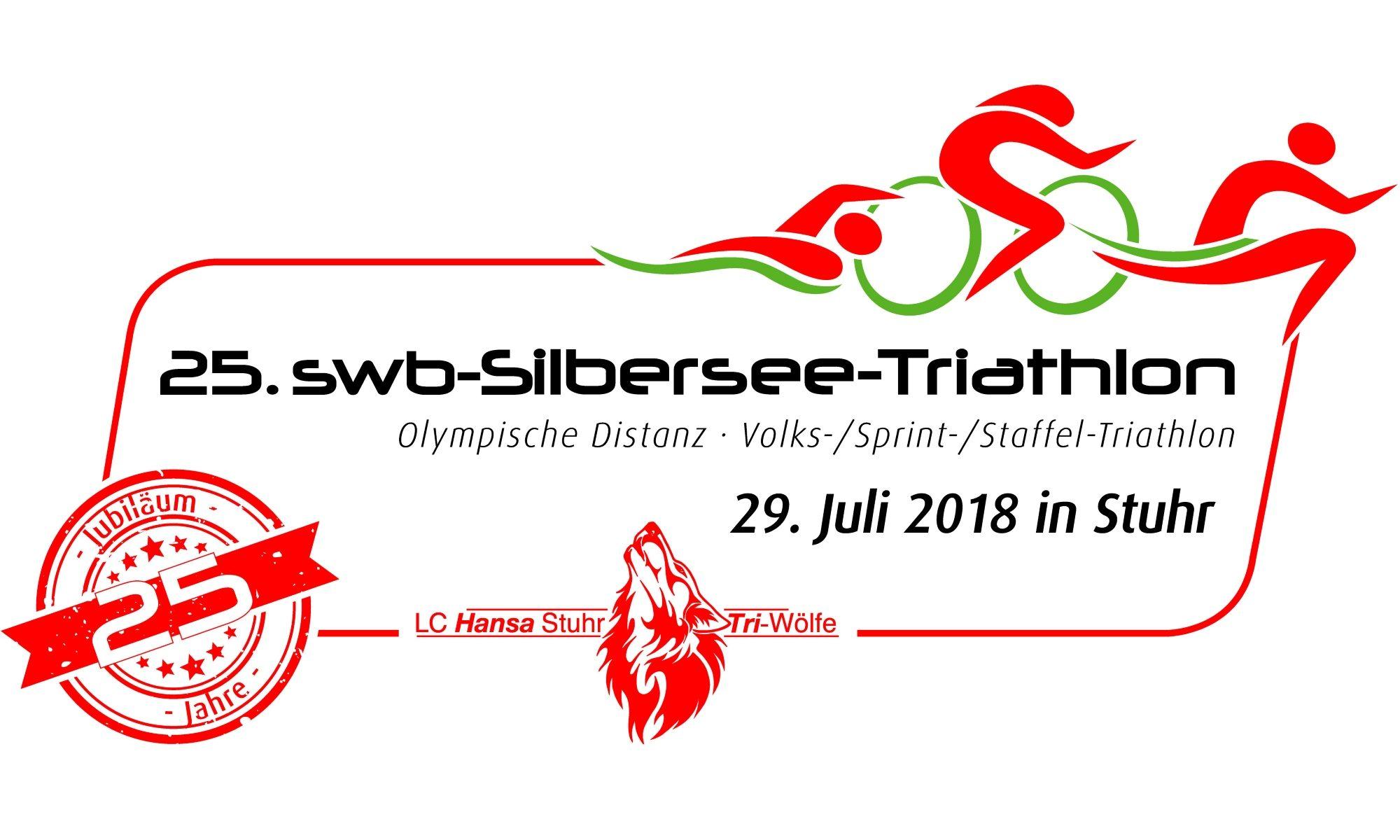 25. swb-Silbersee-Triathlon - 29.07.2018